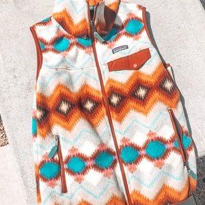 Rare Patagonia Aztec Women's Synchilla Vest